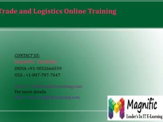 Microsoft Dynamics AX Trade and Logistics Online Training in USA
