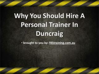 Why You Should Hire A Personal Trainer In Duncraig