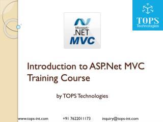 ASP.Net MVC Training Course Ahmedabad