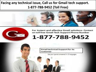 Gmail.com Customer Gmail Contact Phone Number 1-877-788-9452