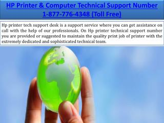 Hp tech Support Number for HP printers