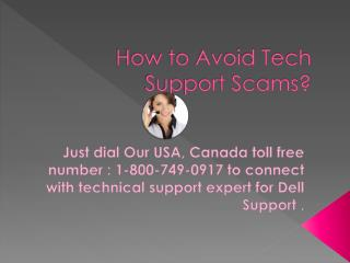 How to Avoid Tech Support Scams?