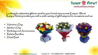 Send Online Flowers & gifts to Kanpur