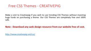 Free Css Themes