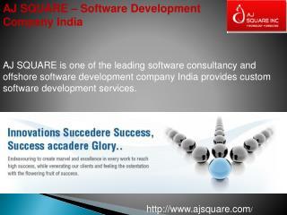 AJ Square – Software Development Company India