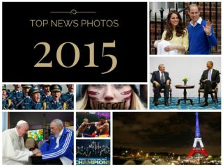 Top News Photos of 2015