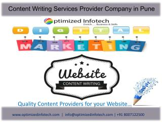 SEO Friendly Content Writing Services Pune | Content Writing Company Pune