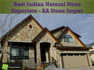 Best Indian Natural Stone Exporters - AA Stone Impex
