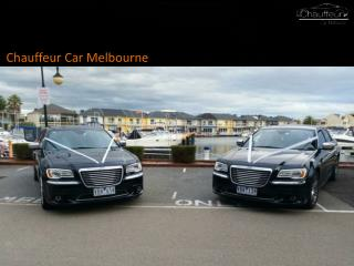 chauffeur services in Melbourne