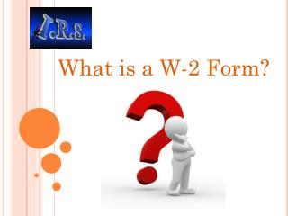 Information about IRS Form W-2