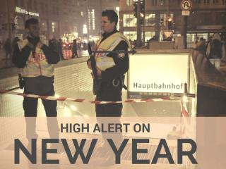 High Alert on New Year