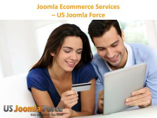 Joomla E-Commerce Services - US Joomla Force