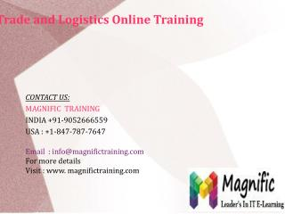 Microsoft Dynamics Ax Trade and logistics Online Training in Australia