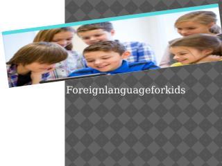 Spanish Words For Kids