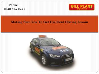 Driving Lesson Bristol