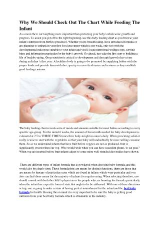 Best baby formula reviews