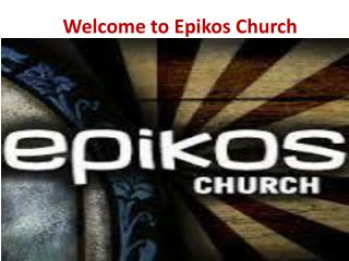 Churches in Milwaukee - Epikos Church