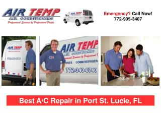 Port St. Lucie Air Conditioning Repair Services