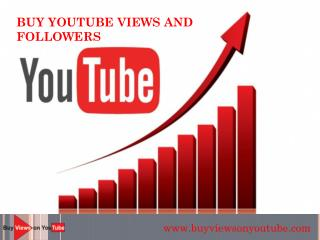 Buy YouTube Views And Comments