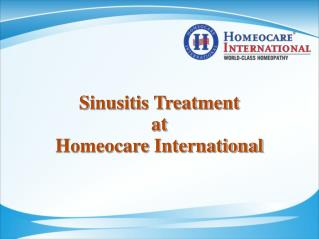 Gentle way to clear Sinus infection through Homeopathy