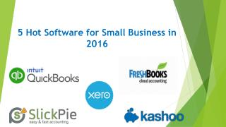 5 Hot Software for Small Business in 2016