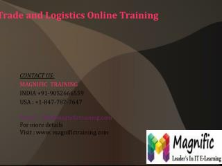 Microsoft Dynamics Ax Trade And Logistics Online Training in Singapore