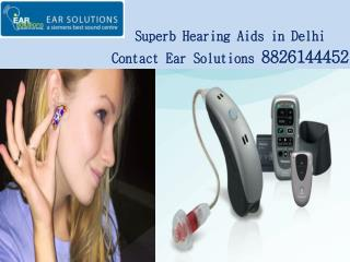 Superb Hearing Aids in Delhi Contact Ear Solutions