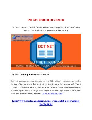 how to learn dot net