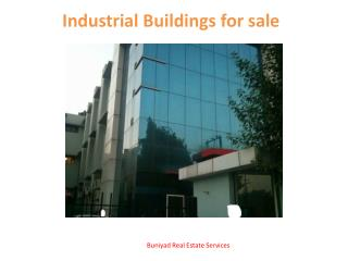 Industrial Buildings for sale in noida