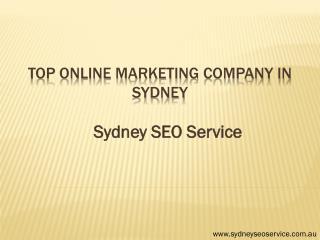 Top Online Marketing Company in Sydney