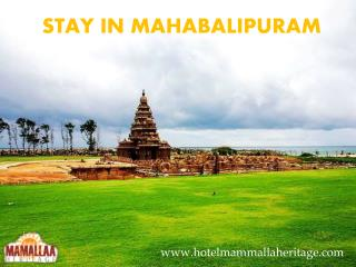Stay In Mahabalipuram