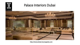 Palace Interior Dubai