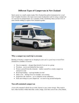 Cheap van hire New Zealand