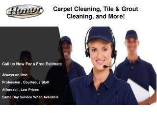 Carpet Cleaning, Tile & Grout Cleaning