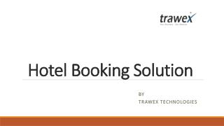 Hotel Booking Solution