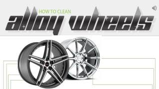 Clean Alloy Wheels With Household Items