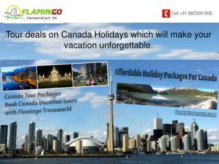 Canada Tour - Where Landscapes Form Memories