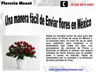 Arreglos Florales en México, Envio de Ramos