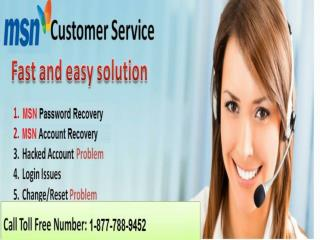 MSN customer care service 1-877-788-9452 tollfree number for MSN issues
