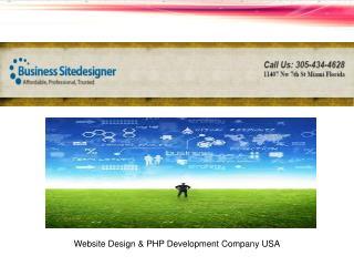 Website Design PHP Development Company USA