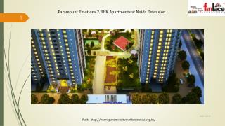 Paramount Emotions lavish homes at Noida Extension