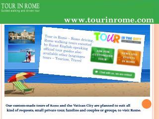 Vatican museum tours at tourinrome.com