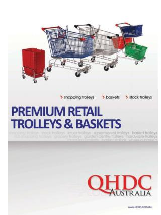 Supermarket Trolleys and Spares