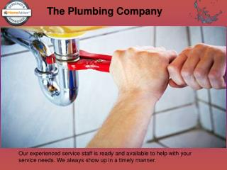 Plumbing Services in Treasure Coast