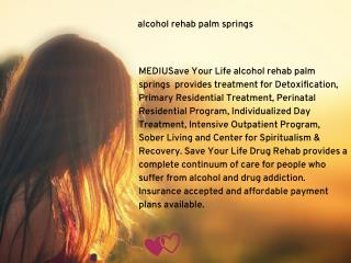 drug detox palm springs