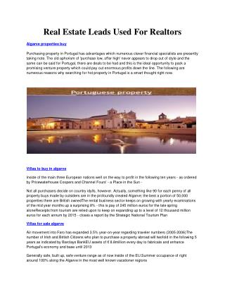 Algarve properties buy - Villas to buy in algarve