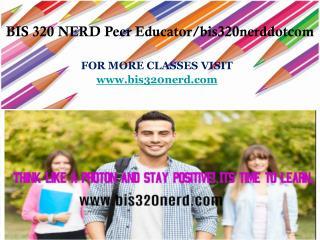 BIS 320 NERD Peer Educator/bis320nerddotcom