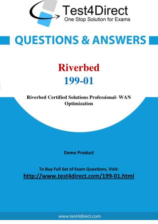 Riverbed 199-01 Test - Updated Demo