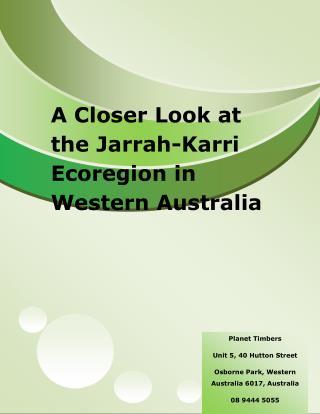 A Closer Look at the Jarrah-Karri Ecoregion in Western Australia