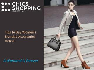 Buy Women's Branded Accessories Online, Best Designer Handbags Online